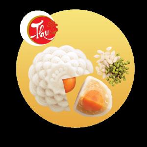 Bánh Dẻo Đậu Xanh Hạt Dưa (1 Trứng)