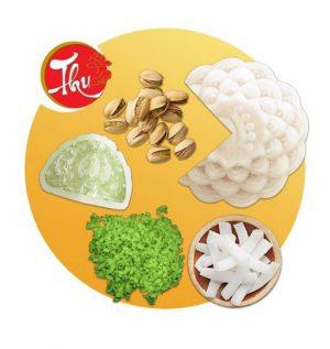 Bánh Dẻo Cốm Dừa Hạt Dẻ (0 Trứng) - Miền Bắc