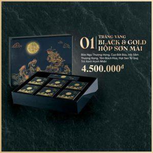 Trăng Vàng BLACK & GOLD Hộp Sơn Mài